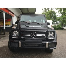 2017 MB G63 AMG Black on Black-RED Designo Leather